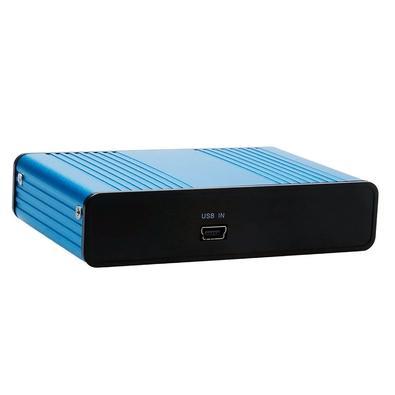 Placa de Som Externa GV Brasil USB, 5.1 6 Canais, Azul e Preto - COV.059