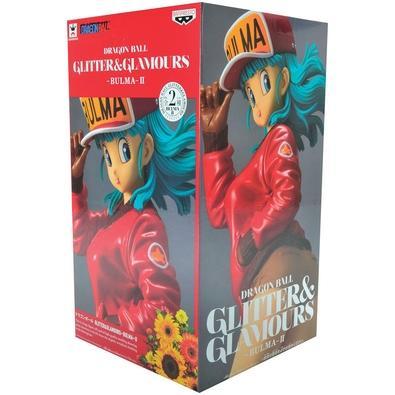 Action Figure Dragon Ball Glitter e Glamour II, Bulma (MOD.A) - 29242/29243