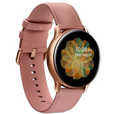 Smartwatch Samsung Galaxy Watch Active2 LTE, Monitor Cardíaco, Aço Inoxidável, Dourado - SM-R835FSDAZTO