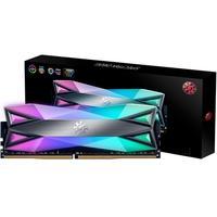 Memória XPG Spectrix D60G RGB 8GB, 3000MHz, DDR4, CL16, Cinza - AX4U300038G16A-ST60