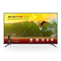 Smart TV LED 55´ 4K TCL, Android TV, 3 HDMI, 2 USB, Bluetooth, Wi-Fi, HDR, Chumbo - 55P8M