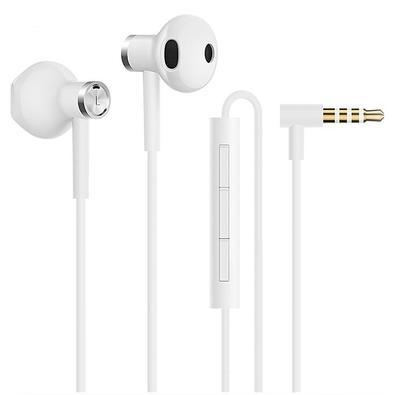 Fone de Ouvido Xiaomi Mi Dual Driver Earphones, com Microfone, Branco - XM356BRA