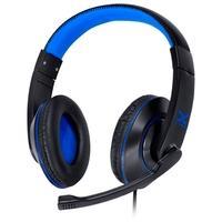 Headset Gamer Vinik VX Gaming V Blade II USB, Drivers 40mm, Preto e Azul - 31535