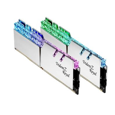 Memória G.Skill Trident Z Royal RGB, 32GB (2x16GB), 3000MHz, DDR4, CL16 - F4-3000C16D-32GTRS