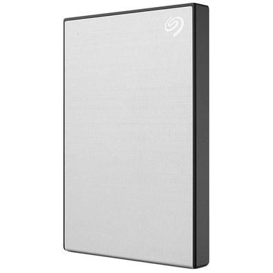 HD Externo Seagate Portátil Backup Plus Slim, 2TB, USB 3.0. Prata  - STHN2000401