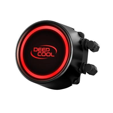 Water Cooler Deepcool Gammmaxx L240T Red, 240mm, Led Vermelho - DP-H12RF-GL240TR
