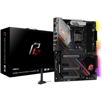 Placa-Mãe ASRock Z390 Phantom Gaming X, Intel 1151, ATX, DDR4