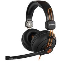 Headset Gamer Hoopson, Drivers 40mm, Preto/Laranja - GA-X3