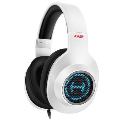 Headset Gamer Edifier G2 II Hecate, RGB, 7.1 Virtual Som Surround, Drivers 50mm, USB, Branco- G2II-WH