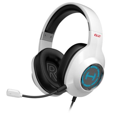 Headset Gamer Edifier G2 II, RGB, 7.1 Virtual Som Surround, Drivers 50mm, Branco - G2II-WH