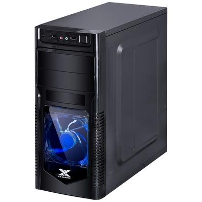 Gabinete Gamer Vinik VX Gaming Orion, Mid Tower, LED Azul, com FAN, Frontal em Acrílico - 29836