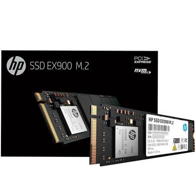SSD HP EX900, 500GB, M.2, PCIe NVMe, Leituras: 2100Mb/s e Gravações: 1500Mb/s - 2YY44AA#ABL
