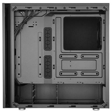 Gabinete Gamer Cooler Master Silencio S600, Mid Tower, com FAN, Lateral em Vidro - MCS-S600-KG5N-S00