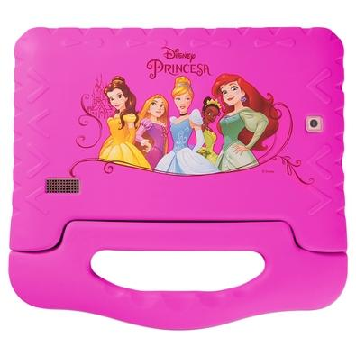 Tablet Multilaser Disney Princesas Plus,  Bluetooth, Android 8.1, 16GB, 7´ - NB308