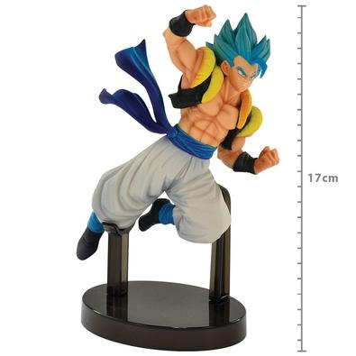 Action Figure Dragon Ball, Super Saiyan God Gogeta Z Battle - 34845/34846