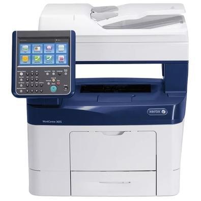 Multifuncional Xerox WorkCentre 3655, Laser, Mono, Wi-Fi, 110V - 3655SM