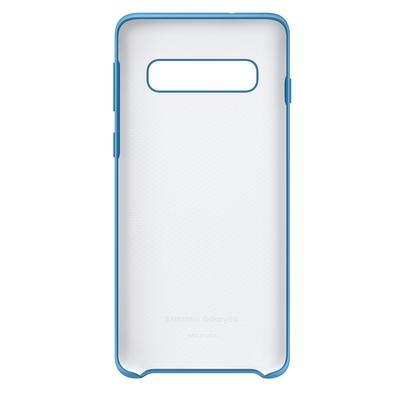 Capa Protetora Samsung, Silicone, para Galaxy S10, Azul - EF-PG973TLEGBR