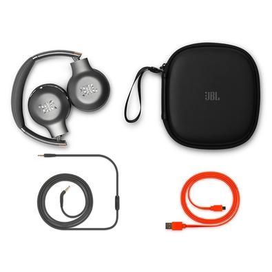 Headphone Bluetooth JBL Everest 310GA, Case, Space Grey - JBLV310GABTGML