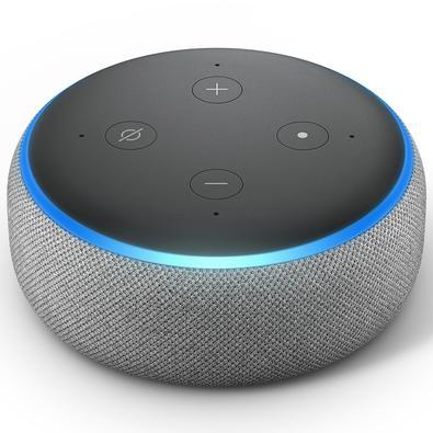 Amazon Smart Home Echo Dot Alexa, 3ª Geração, Cinza