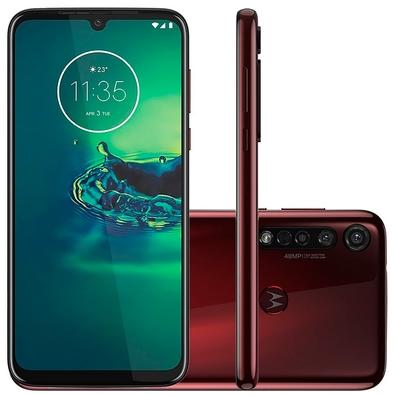 Celular Smartphone Motorola Moto G8 Plus Xt2019 64gb Vermelho - Dual Chip