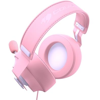 Headset Gamer Cougar Phontum S Pink, Drivers 53mm, Rosa - 3H500P53P-0001
