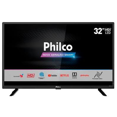 Smart TV LED 32´ Philco, Conversor Digital, 2 HDMI, 1 USB - PTV32G52S