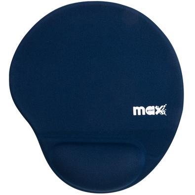 Apoio de Pulso Maxprint Para Mouse, Gel, 220x355mm, Azul - 604470