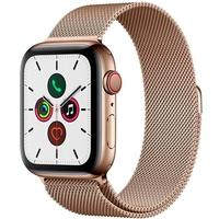 Apple Watch Series 5, GPS, 44mm, Dourado, Pulseira Dourada - MWWJ2BZ/A
