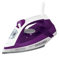 Ferro de Passar a Vapor Black + Decker Steam Plus, 1200W, 110V, Roxo - FX2500-BR