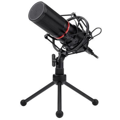 Microfone Streamer Gamer Redragon GM300, LED, USB - GM300