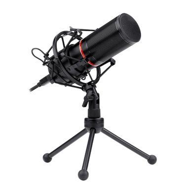 Microfone Condensador Gamer Redragon Blazar GM300, LED, USB Plug and Play - GM300