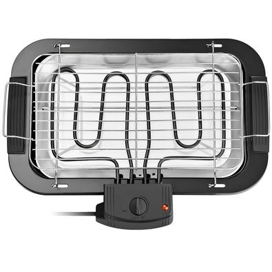 Churrasqueira Elétrica Multilaser, 110V, Preta - CE19