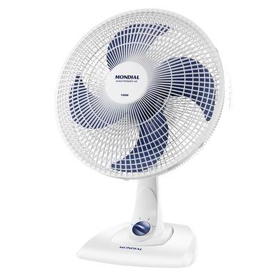 Ventilador de Mesa Mondial Maxi Power, 40cm, 3 Velocidades, 220V - V-45-4P-NP