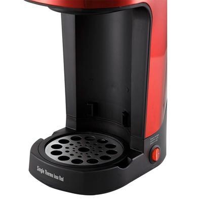 Cafeteira Philco Single Thermo, Copo Térmico, 600W, 110V, Inox/Vermelha - 53901051
