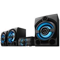 Mini System Sony MHC-M80D, DVD Integrado, HDMI, CD, USB, Bluetooth, FM, Karaokê, 2 Caixas + Subwoofer, Bivolt, Preto -  MHC 80D