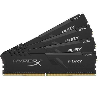 Memória Ram 32gb Kit(4x8gb) Ddr4 3600mhz Hx436c17fb3k4/32 Hyperx