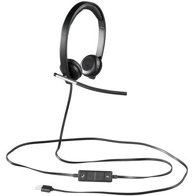 Headset Logitech H650e USB Estéreo - 981-000518