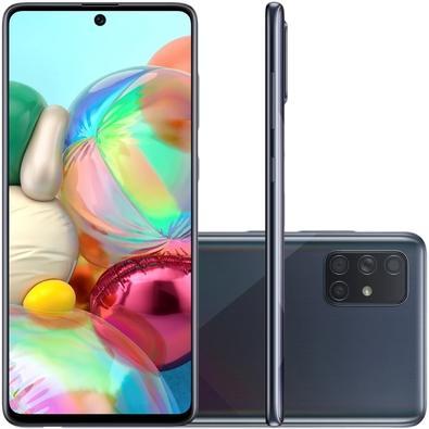 Smartphone Samsung Galaxy A71, 128GB, 64MP, Tela 6.7´, Preto - SM-A715FZKJZTO