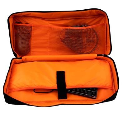 Mochila OEX Brass, Preto/Laranja - BK105