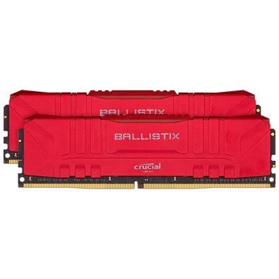 Memória Ram 16gb Kit(2x8gb) Ddr4 3000mhz Bl2k8g30c15u4r Crucial