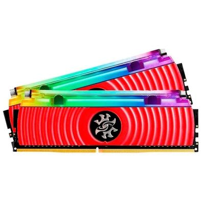 Memória XPG Spectrix D80, RGB, 16GB (2x8GB), 3000MHz, DDR4, CL16, Vermelho - AX4U300038G16A-DR80