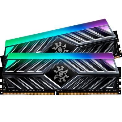Memória XPG Spectrix D41, RGB, 16GB (2x8GB), 3000MHz, DDR4, CL16, Cinza - AX4U300038G16-DT41