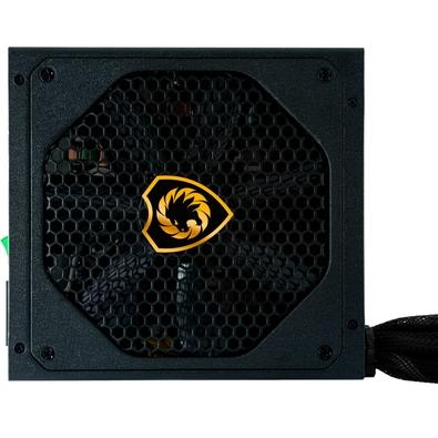 Fonte Gamemax GM500G, 500W, 80 Plus Gold, Semi-Modular - GM500G