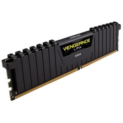 Memória Corsair Vengeance LPX 128GB (8x16GB) 3200Mhz DDR4 C16 Black - CMK128GX4M8X3200C16