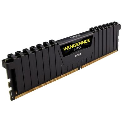 Memória Corsair Vengeance LPX 32GB (4x8GB) 3200Mhz DDR4 C16 Ryzen Black - CMK32GX4M4Z3200C16