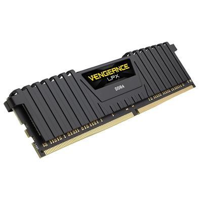 Memória Corsair Vengeance LPX 64GB (4x16GB) 2400Mhz DDR4 C16 Black - CMK64GX4M4A2400C16