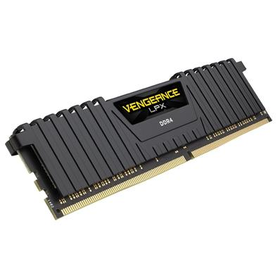 Memória Corsair Vengeance LPX 64GB (8x8GB) 2400Mhz DDR4 C14 Black - CMK64GX4M8A2400C14