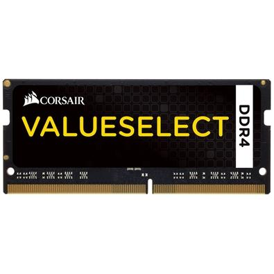 Memória Corsair Value Select Para Notebook 16GB (2x8GB) 2133Mhz DDR4 C15 - CMSO16GX4M2A2133C15