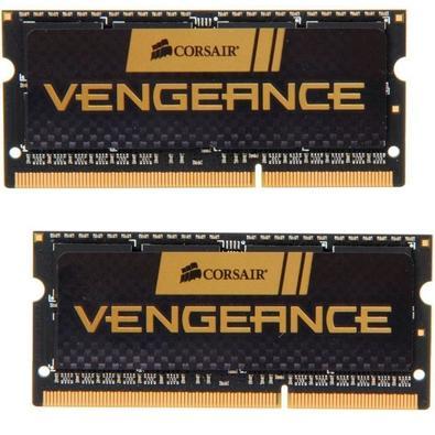 Memória Corsair Vengeance Para Notebook 16GB (2x8GB) 1600Mhz DDR3 C10 - CMSX16GX3M2A1600C10