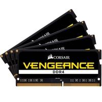 Memória Corsair Vengeance Para Notebook 64GB (4x16GB) 2400Mhz DDR4 C16 - CMSX64GX4M4A2400C16